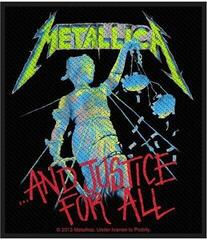 Metallica And Justice For All Sew-On Patch