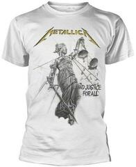 Metallica And Justice For All White T-Shirt White