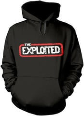 The Exploited Let's Start A War Hooded Sweatshirt Black