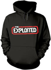 The Exploited Let's Start A War Hooded Sweatshirt L