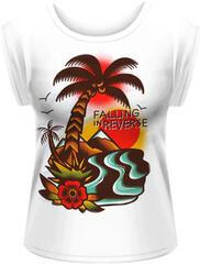 Falling in Reverse Island Rolled Sleeve Womens M