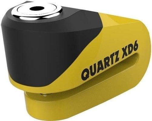 Oxford Quartz Alarm XD6 disc lock (6mm pin) Yellow/Black