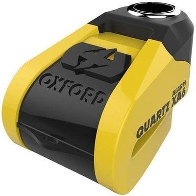 Oxford Quartz Alarm XA6 disc lock (6mm pin) Yellow/Black
