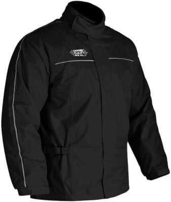 Oxford Rainseal Over Jacket Black M