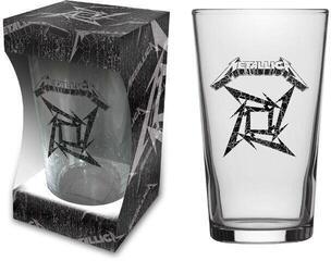 Metallica Black Album Beer Glass