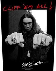 Metallica Cliff Em All Backpatch