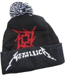 Metallica Glitch Star Logo Knitted Ski Hat