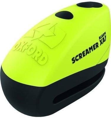 Oxford Screamer XA7 Alarm Disc Lock Yellow/Matt Black