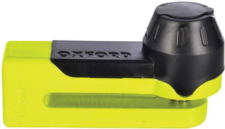 Oxford OF51 Titan Disc Lock with Yellow 10mm Locking Pin