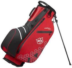 Wilson Staff Dry Tech II Stand Bag Red/White/Black