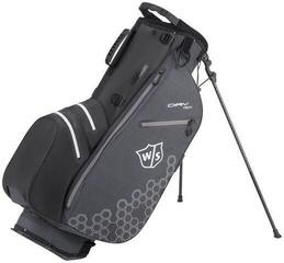 Wilson Staff Dry Tech II Stand Bag Black/Black/White