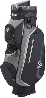 Wilson Staff iLock III Cart Bag Black/Grey/White