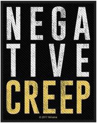 Nirvana Negative Creep Sew-On Patch