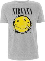 Nirvana Smiley Splat T-Shirt Grey