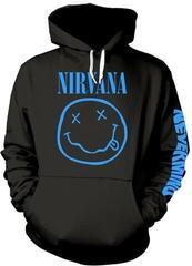 Nirvana Nevermind Smile Hooded Sweatshirt L