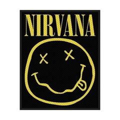 Nirvana Smiley Sew-On Patch