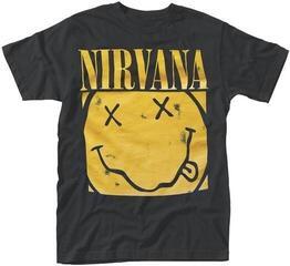 Nirvana Box Smiley T-Shirt Black
