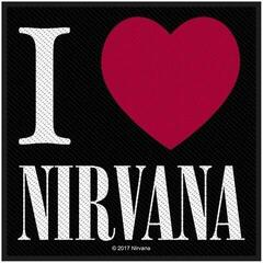 Nirvana I Love Sew-On Patch