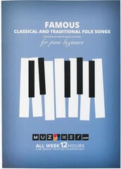 Muziker Famous Classical and Traditional Folk Songs Music Book