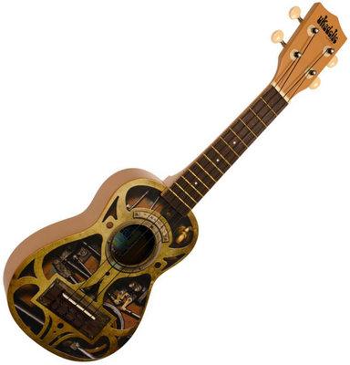 Kala Makala Ukadelic Steampunk ukulele soprano