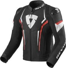 Rev'it! Jacket Glide Black/Neon Red