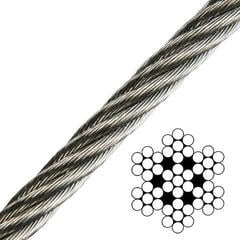 Talamex Wire Rope Stainless Steel AISI316 7x7