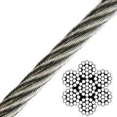 Talamex Wire Rope Stainless Steel AISI316 7x19
