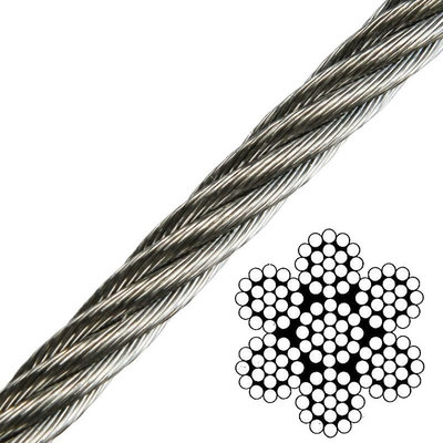 Talamex Wire Rope Stainless Steel AISI316 7x19 - 2'5 mm