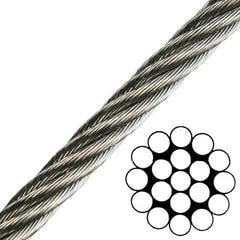 Talamex Wire Rope Stainless Steel AISI316 1x19