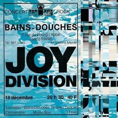 Joy Division Live At Les Bains Douches / Paris December 18 / 1979