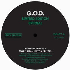 G.O.D. Limited Edition Special (12'' Vinyl LP)
