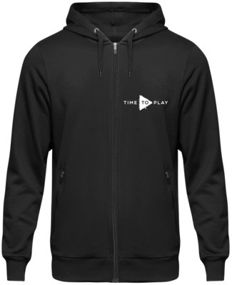 Muziker Time to Play Hoodie Black XXL