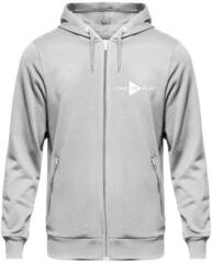 Muziker Time to Play Hoodie Grey