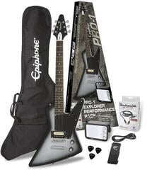 Epiphone PRO-1 Explorer Performance Pack Silver Burst (B-Stock) #922425