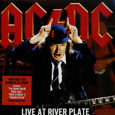 AC/DC Live At River Plate (Coloured Vinyl)