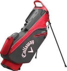 Callaway Hyper Lite Zero Stand Bag Charcoal/White/Red 2020