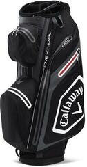 Callaway Chev Dry 14 Cart Bag Black/Charcoal/White/Red 2020