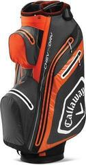 Callaway Chev Dry 14 Cart Bag Charcoal/Orange/White 2020