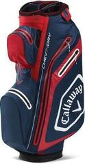 Callaway Chev Dry 14 Cart Bag Navy/Red/White 2020