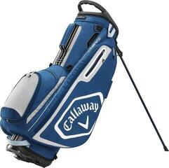 Callaway Chev Stand Bag Navy/Silver/White 2020