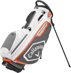 Callaway Chev Stand Bag White/Charcoal/Orange 2020