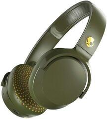 Skullcandy Riff Wireless On-Ear Headphone Moss/Olive/Yellow