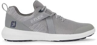 Footjoy Flex Mens Golf Shoes Grey