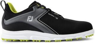 Footjoy Superlites Mens Golf Shoes Black/Lime