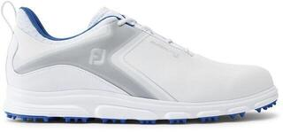 Footjoy Superlites Mens Golf Shoes White/Grey/Blue