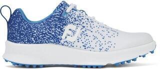 Footjoy Leisure Womens Golf Shoes Royal/White