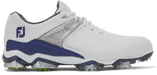Footjoy Tour X Mens Golf Shoes White/Navy