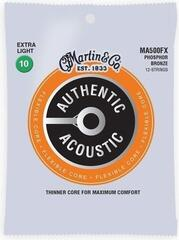 Martin MFX700 SP Flexible Core Strings, 92/8 Phosphor Bronze, Custom 12 String