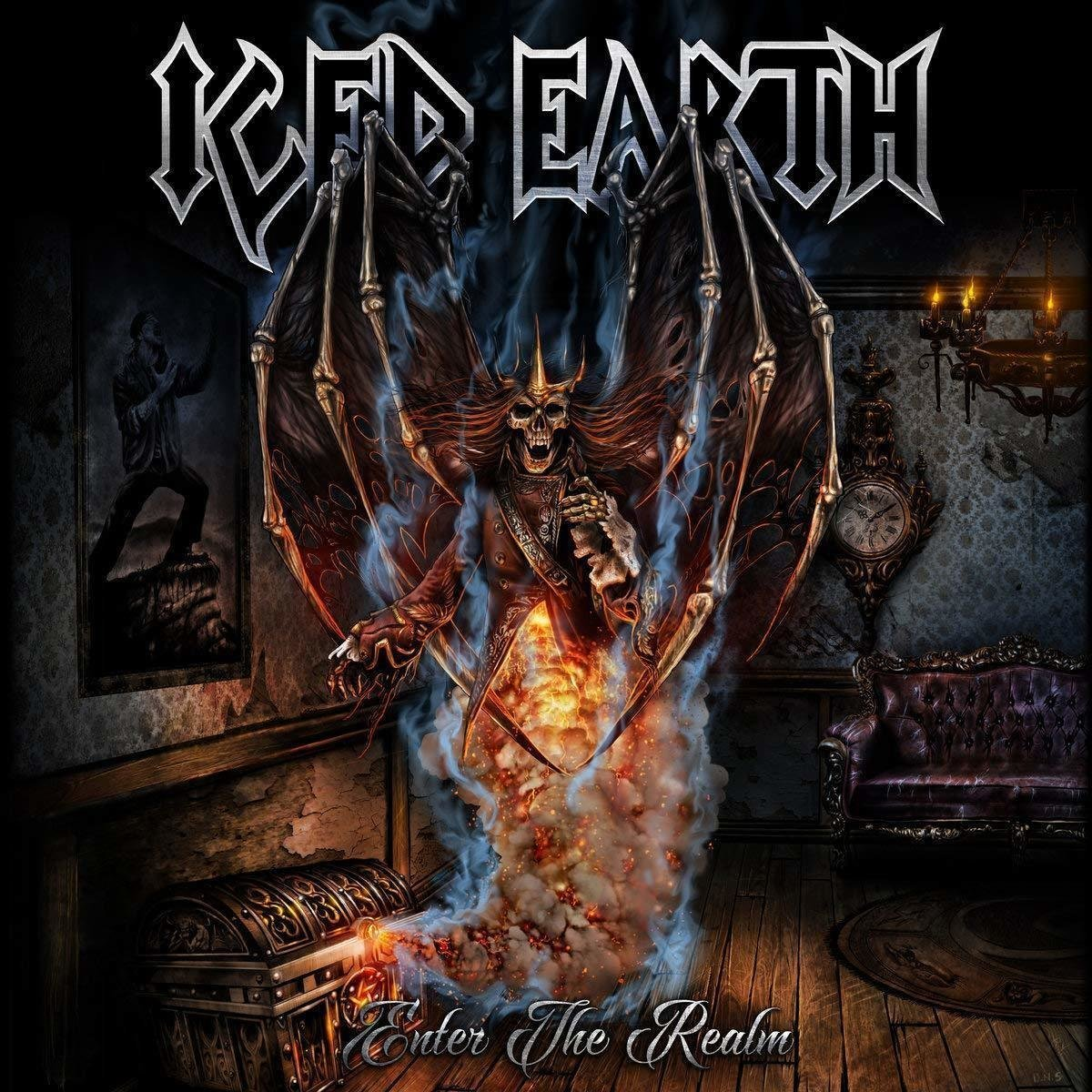 Iced Earth Enter the Realm (EP) (Limited Anniversary Edition) (Vinyl LP) Miss Sixty