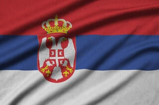 Allroundmarin Serbian Flag 20 x 30 cm